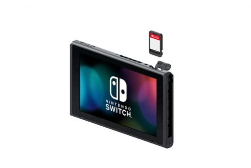 Nintendo Switch 64GB卡匣 預計延後至2019年推出