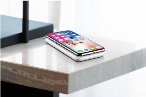 WiBa 無線充電 行動電源 讓手機「靠」著就能充電!