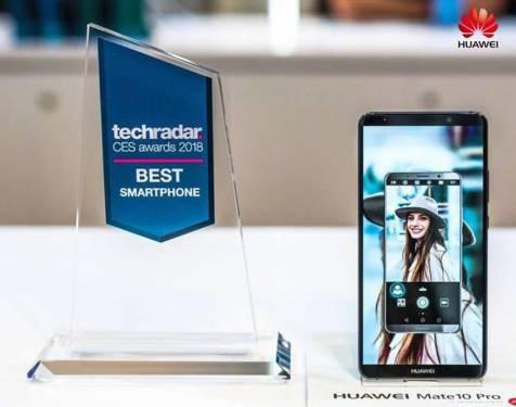 華為 Mate 10 Pro 2018 CES 囊括四項大獎