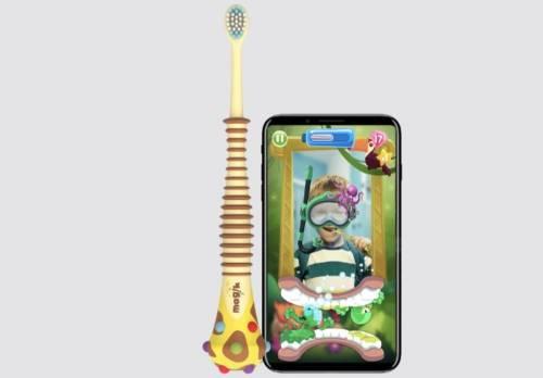 讓小朋友愛上刷牙 結合AR的智慧兒童牙刷 Magik