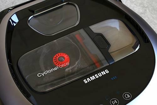 輕薄時尚吸力強勁 新一代 Samsung POWERbot 極勁氣旋機器人動手玩