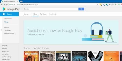 愛聽有聲書的人有福了! Google Play 將新增有聲書類別