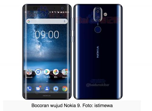 野生 Nokia 9 曝光 不排除有曲面螢幕?