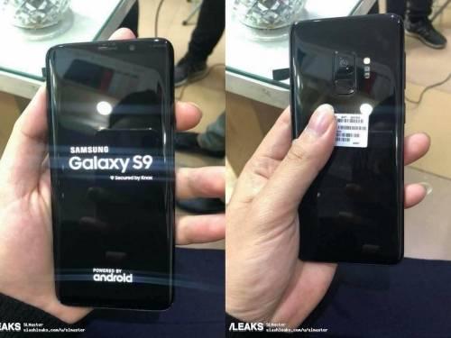 三星 Galaxy S9 實機曝光 外型及規格完整揭露