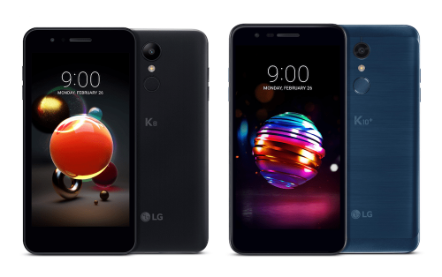 K系列平價手機再起 LG 推出2018年版K8 K10 K10α與K10+