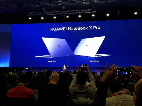 全球首款91 高屏佔比觸控螢幕筆電 HUAWEI MateBook X Pro 發表亮相