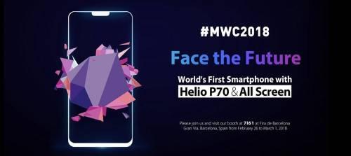 MTK Helio P60 剛發表 首款搭載 P70 手機緊接亮相?