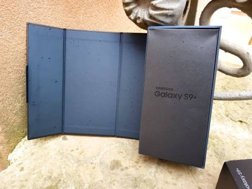 [開箱] Samsung Galaxy S9+ 盒裝 簡易開箱分享!