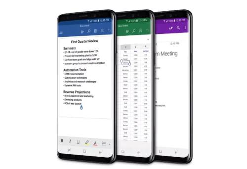 內建Microsoft Office軟體 微軟版 Galaxy S9 即將在美上市