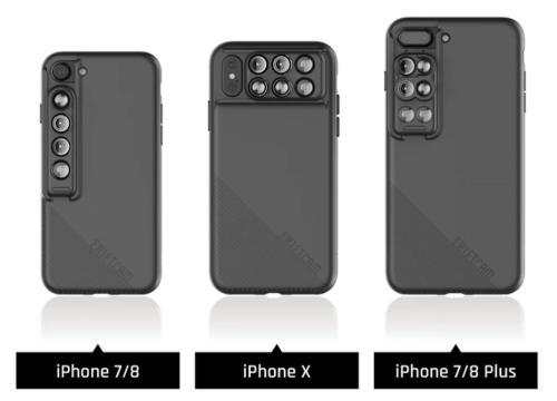 ShiftCam 2.0 讓iPhone X輕鬆拍照的外掛鏡頭