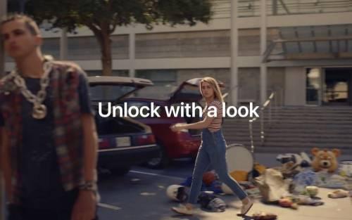 Apple FaceID 新廣告 輕輕瞄一眼 什麼都別想鎖住!