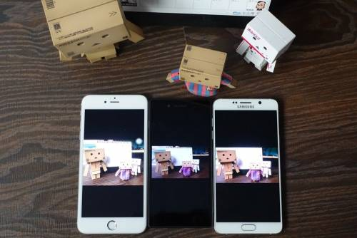 iPhone 6s plus Samsung Note5 Sony Z5 拍照快速看