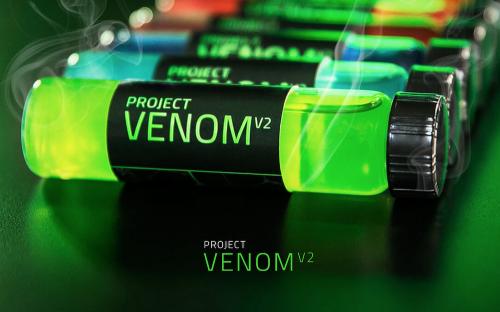 瞬間強化電玩反應 Razer Project Venom V2 能量飲料