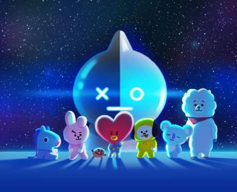 LINE 推出「Face Play」 視訊時還能和 BT21 一起玩遊戲