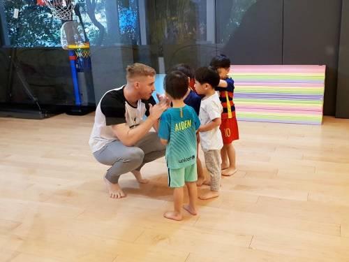 [親子] GDS 雙語籃球課 讓 3 歲小孩邊玩邊運動!