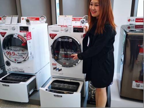 烘衣不怕衣服縮水 LG 推出全新 Heat Pump 技術乾衣機