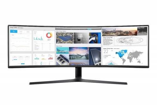 三星49吋32:9超寬曲面螢幕 C49J89 五月初正式上市