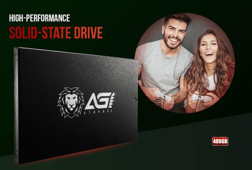 全新SSD品牌 AGI 正式上市 祭出買一送一限時限量優惠