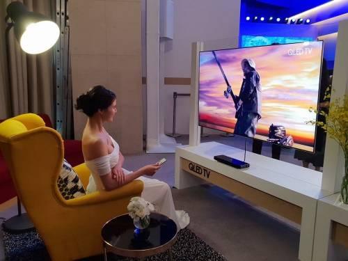 三星全新 QLED 量子電視上市 電視變成