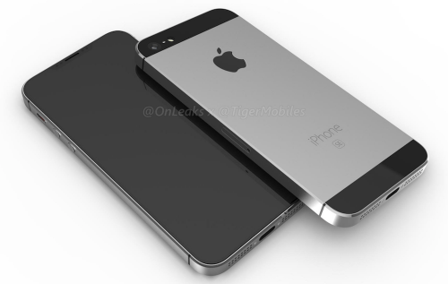 真有異形切割全螢幕與全金屬機身? iPhone SE 2 外觀渲染圖曝光