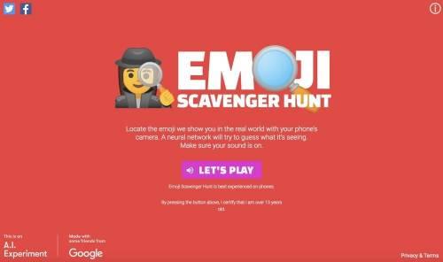 Google AI 版「支援前線」- Emoji Scavenger Hunt 挑戰你和 AI 的默契
