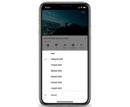 iPhone X 將支援 YouTube HDR 高畫質影片服務