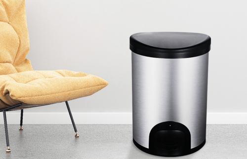 納仕達智慧電子輕觸垃圾桶 會自動關蓋的智慧垃圾桶