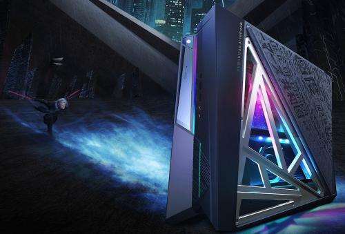充滿科技感電競桌機 全新 ROG HURACAN 電競桌機