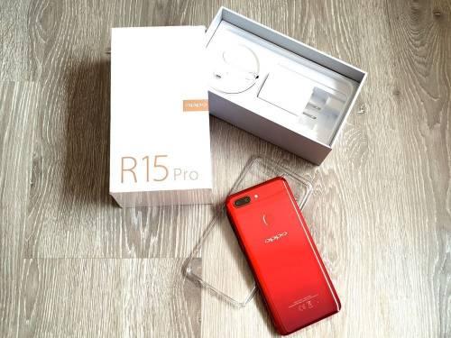 [開箱] OPPO R15 Pro 夢鏡紅 快速開箱重點測!