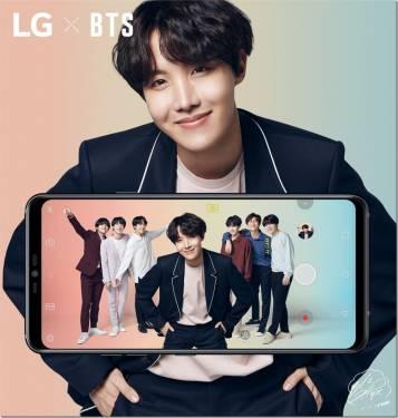 不是 TWICE BTS 防彈少年團 擔任 LG 電子行動通訊代言人