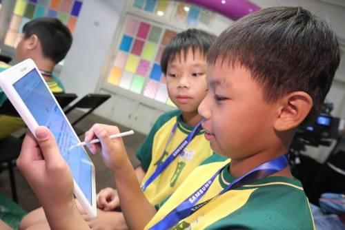 三星攜手台北當代藝術館 讓學童同步看見 聽見美