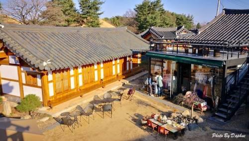 韓國慶州住宿 幸福村 Happy Village Syeobul 韓屋民宿 一日三餐場景在眼前