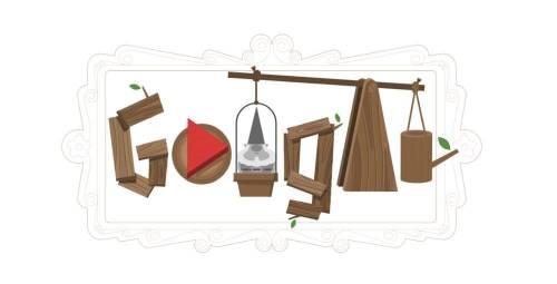 [Google Doodle] 全世界最紅的小精靈 -「花園地精」