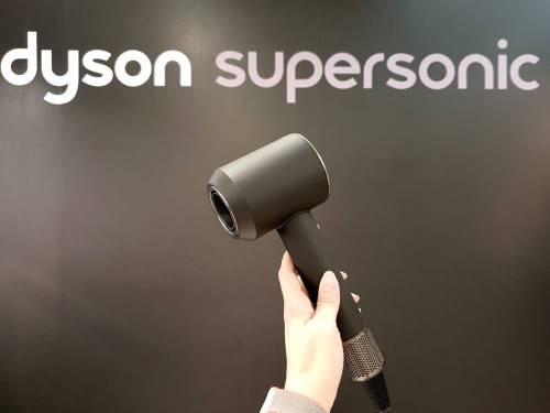 換個風格也不錯! Dyson Supersonic 推出時尚黑鋼色
