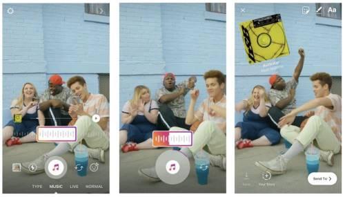 Instagram 為短影片新增上千首音樂資料庫 人人都能是網紅!