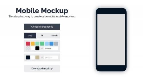 免安裝 免技術!「Mobile Mockup」幫你輕鬆完成手機畫面模擬圖
