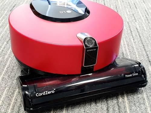 LG 無線吸塵器 A9+ 再進化 掃地機器人 R9 還有 AI 加持了!