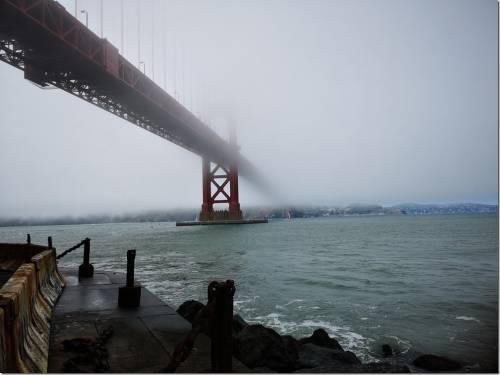 舊金山 三籓市 金門大橋 用手機哪裡可以拍到?