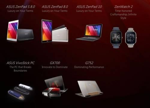 ASUS 2015IFA 展前記者會 推出VivoStick電腦棒與ZenWatch 2 價格