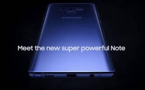 三星 Galaxy Note 9 官方廣告意外流出