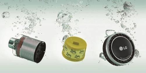 LG 無線吸塵器再進化 CordZero A9+ 可以直接用水洗!