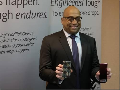 康寧展出全新保護玻璃 Gorilla Glass 6 與更多先進展品 Touch Taiwan 2018 展出