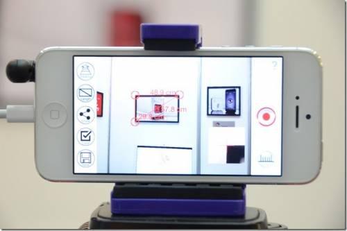 iPin Laser Ruler 讓手機就可精確測距