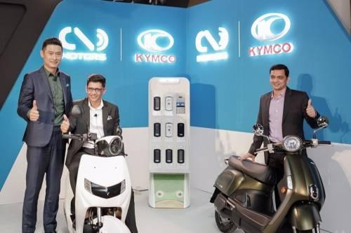 KYMCO Ionex車能網國際聯盟成形 邁進全球第一大機車市場