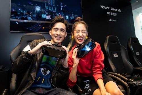 三星 Galaxy Studio 開幕 Gear VR「4D 星視野」 S Pen 體驗超好玩!