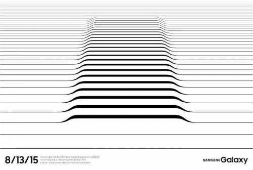 邀請函釋出 Samsung 13日發表會確定 15日Note5台灣亮相