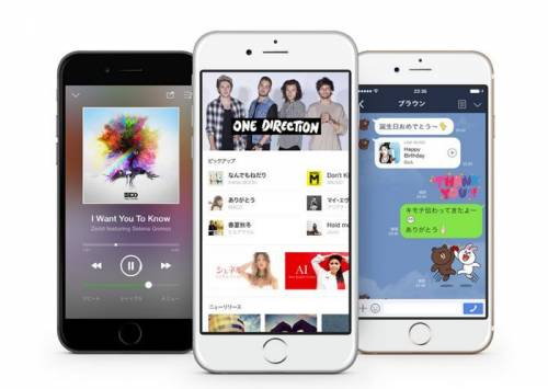 Line推出音樂串流服務-LINE MUSIC 即日起日本登場