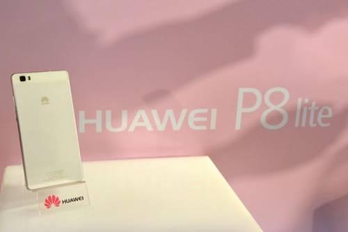 華為推出完美小心機-P8 Lite 一次設定以後怎麼拍都是你最美