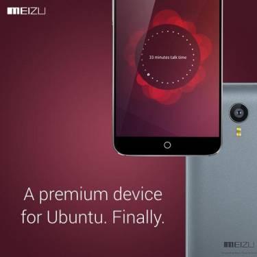 魅族於MWC中推出Ubuntu版本 MX4