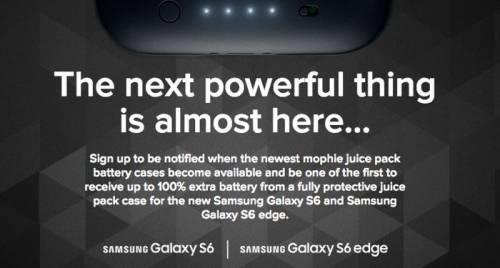 Mophie將推出GALAXY S6 S6 edge 專屬充電保護殼